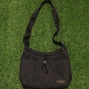 Women's 90's Polo Sport Black Nylon Purse